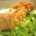 Quick Weeknight Chicken Burritos