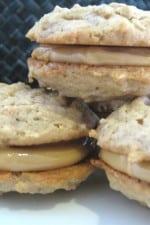 Peanut Butter Sandwich Cookies with Peanut Butter Molasses Buttercream