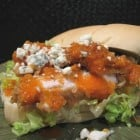 Buffalo Chicken Sandwich with Gorgonzola Crumbles
