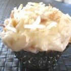 Coconut Cupcakes with Toasted Coconut Cream Cheese Frosting