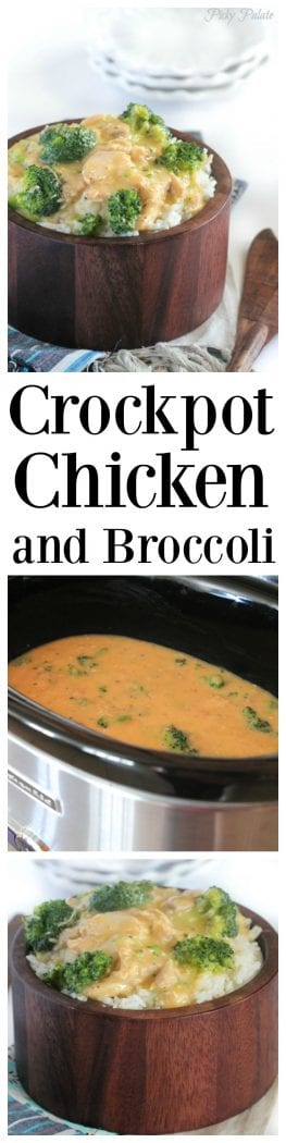 Creamy Crockpot Chicken and Broccoli