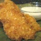 Homemade Crunchy Almond Crusted Chicken Strips