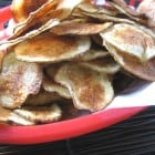 Homemade Garlic and Olive Oil Baked Chips