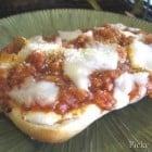Garlic Toasted Open Faced Lasagna Ciabattas