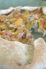 Ranchero Mexi-Chicken Crostada