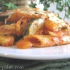 Zucchini and Fennel Chicken Penne Gratin