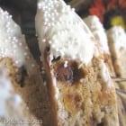 White Chocolate Dipped Cinnamon and Banana Bread Biscotti