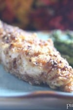 Sweet Chili Glazed and Walnut Crusted Tilapia with Roasted Asparagus