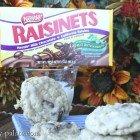 Oatmeal Raisinet Cookies...