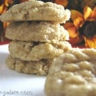 Apple Dippin' Peanut Butter Cookies
