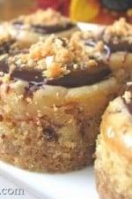 Peanut Butter-Finger Mini Cheesecakes