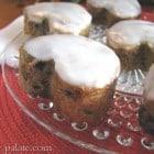 Glazed Peanut Butter, Banana and Blackberry Muffins...