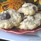 Dark Chocolate Mint Coconut Macaroon Cookies......and Curtis Stone!!