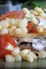 Steak and Goat Cheese Quesadillas With Corn and Tomato Relish