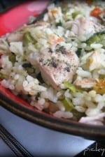 Romano Ranch Chicken and Rice Skillet Dinner