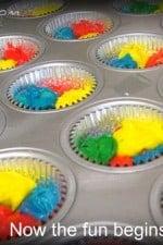 Rainbow Bright Cupcakes.  Happy 2nd Birthday Picky Palate!