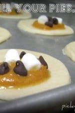Mini Chocolate Chip Pumpkin Pies...