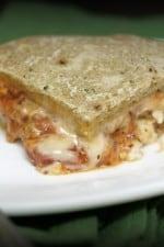 Italian Sausage Lasagna Stuffed Pizza...