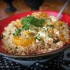 Sesame Mandarin Quinoa Salad