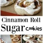 Cinnamon Roll Sugar Cookies