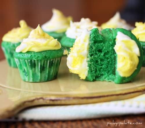 Lucky Green Velvet Baby Cakes