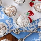 Peanut Butter and Jelly Crunch Truffles...