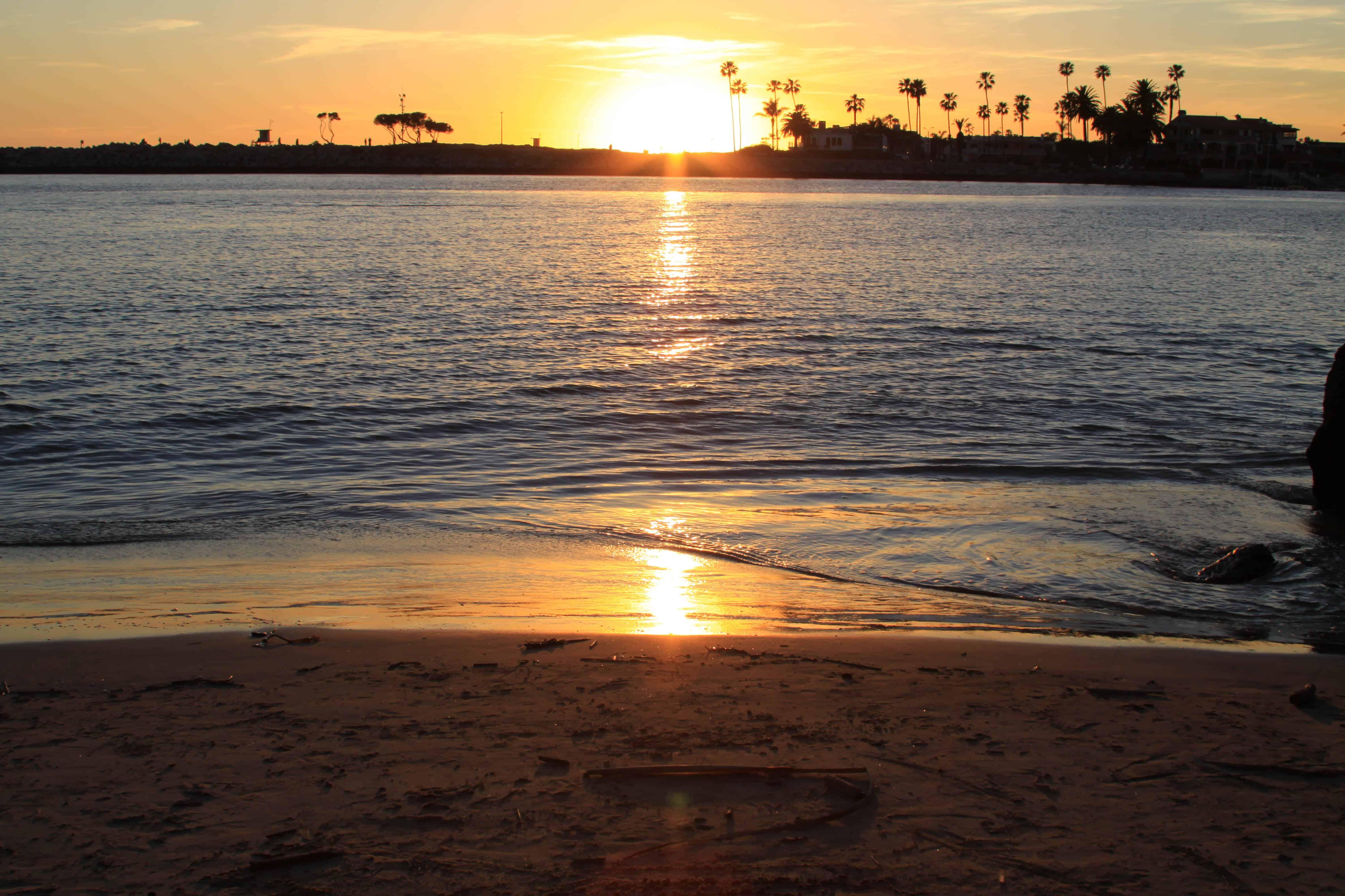 Watching Sunset at Corona Del Mar Beach... - Picky Palate