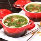 Green Chili Chicken and Lime Soup!