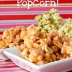 Spring Time Candied Popcorn…
