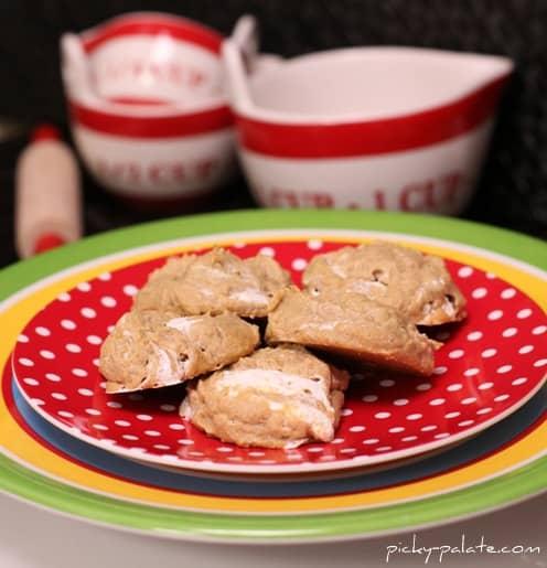 Fluffernutter Cookies on a plate