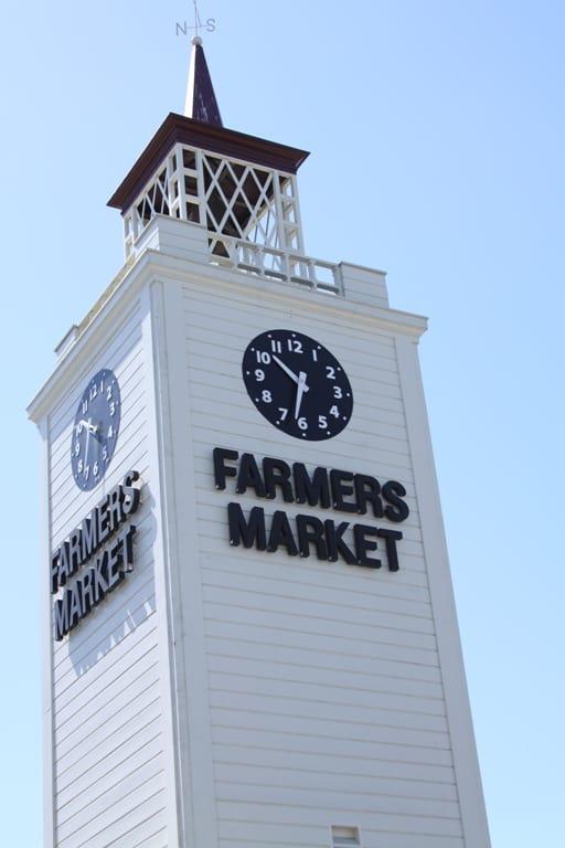 The LA Farmer's Market Clock Tower