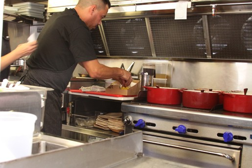 A Peek Into the Kitchen of the World Fare Food Truck