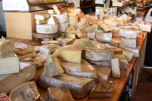A Variety of Cheeses from The Cheese Store of Beverly Hills