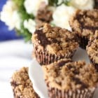 Chocolate Crumb Topped Cupcakes...
