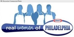 KRAFT FOODS REAL WOMEN OF PHILADELPHIA LOGO