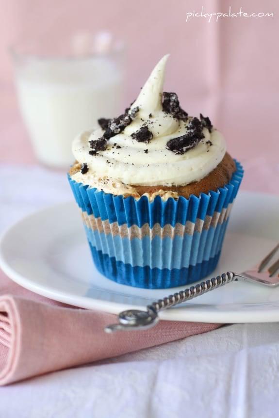 FlufferOreo Birthday Boy Cupcakes Picky Palate