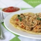 Salsa Chicken and Ranch Florentine Tostadas