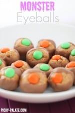Reeses Puffs Crunch Monster Eyeballs