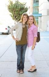 Amanda and Jenny