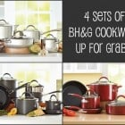 4 More Sets of Better Home's and Garden Cookware Giveaway!