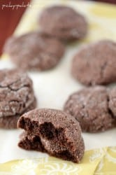 Chocolate Gingersnap Cookies 2