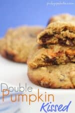 Title image for Double Pumpkin Kissed Chocolate Chunk Cookies