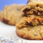 Double Pumpkin Kissed Chocolate Chunk Cookies