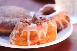 Maple Bacon Donut from Dynamos