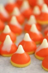 candy corn kisses unwrapped 2