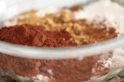 cocoa powder in dry ingredients