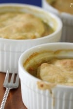 Classic Cheesy Turkey Pot Pies