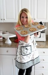 Jen with cookies and apron sm