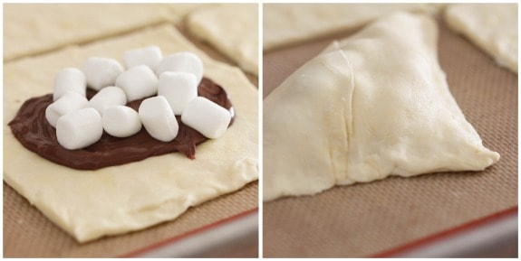 Nutella-Mallow Pillow Pockets - Picky Palate