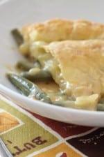 Cheesy Bacon Green Bean Casserole Pot Pie